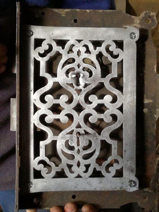 Old lock (back side)