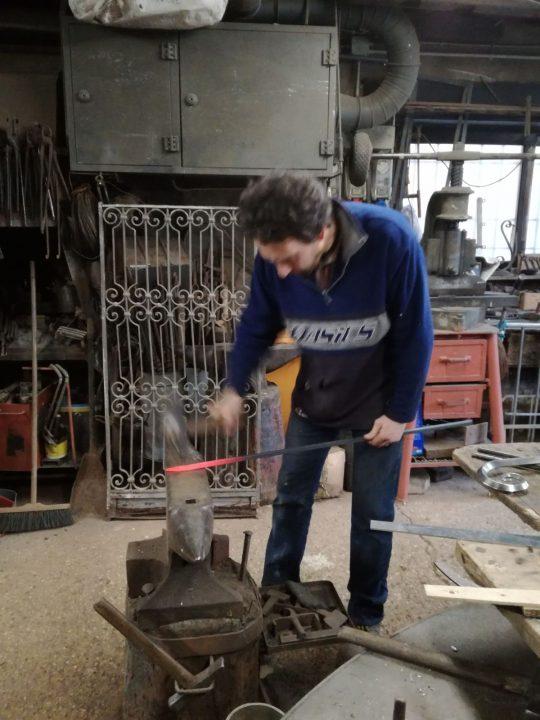 Marco Tenderini at work