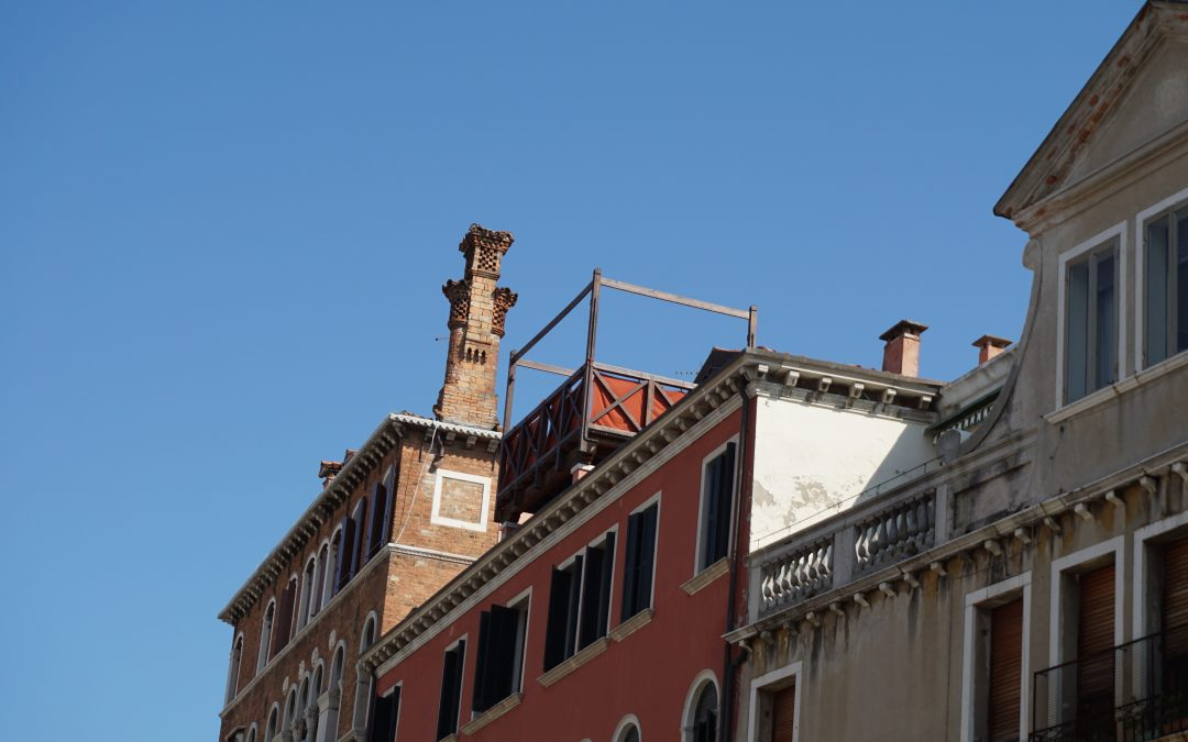 Vita in altana a Venezia
