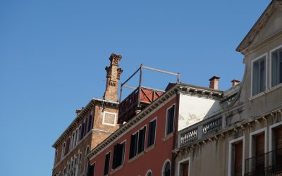 Life on an altana in Venice