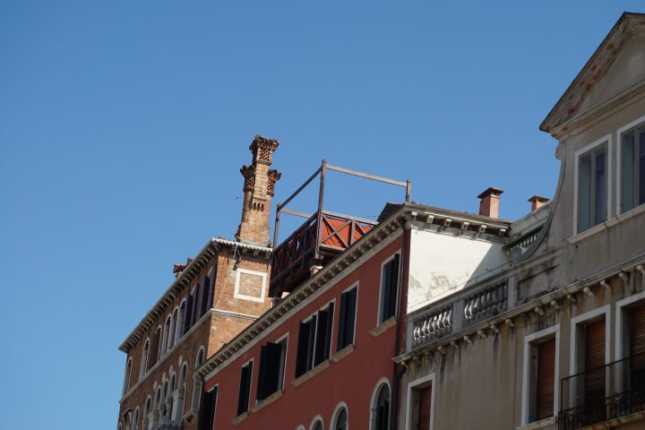 Venetian altana, Fondamenta Rio Marin o Garzotti, Venice