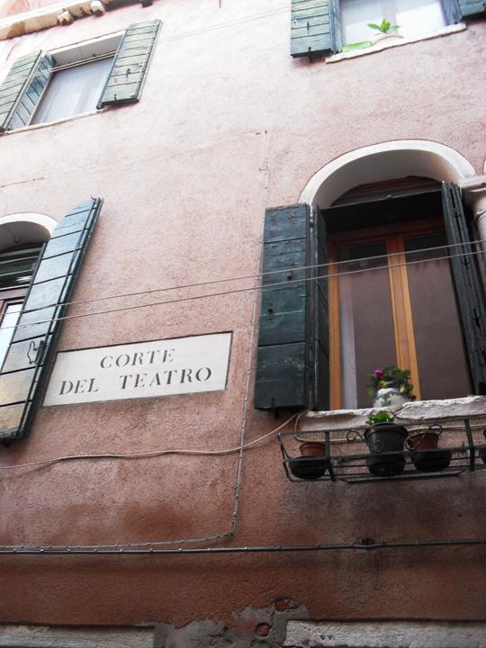 Ramo del teatro, San Samuele, Venezia