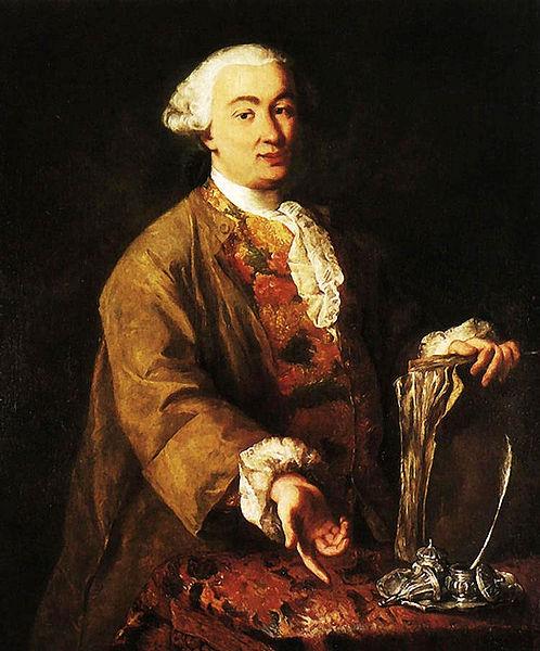 Alessandro Longhi, Ritratto di Carlo Goldoni, Casa Goldoni, Venezia