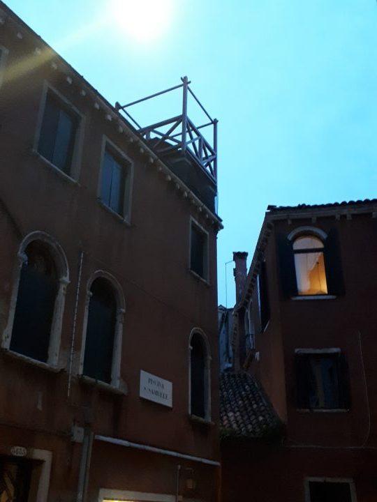 Venetian altana, Piscina San Samuele, Venice