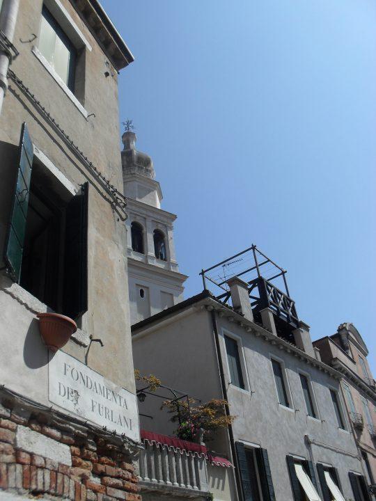 Venetian altana, Fondamenta dei furlani, Venice