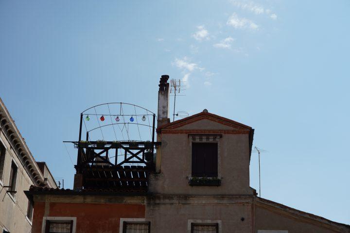 Venetian altana, Campo San Stin, Venice
