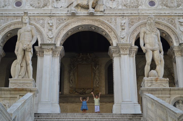 Kids having fun and learning in the Doge's Palace