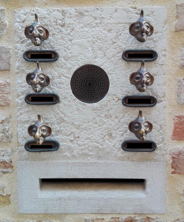 I campanelli bizzarri di Venezia