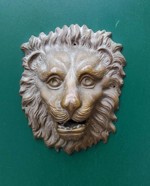 Porta con testa di leone, Venezia