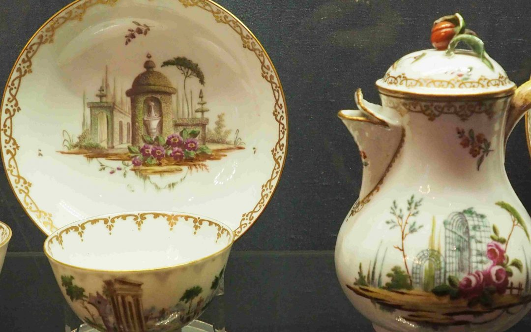 Geminiano Cozzi and the second Venetian porcelain production displayed in Ca' Rezzonico