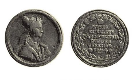 Medaglia della Dogaressa Elisabetta Querini Valier