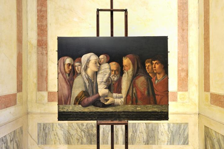 """Giovanni Bellini """"Presentazione di Gesù al tempio"""" della collezione Querini Stampalia a Venezia"""