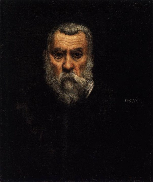 Self-portrait, Tintoretto, Louvre Museum, Paris