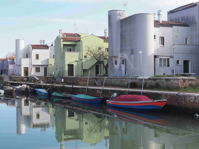 Edilizia residenziale popolare all'isola di Mazzorbo