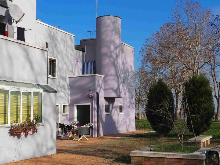'campiello' a small square in the social housing area
