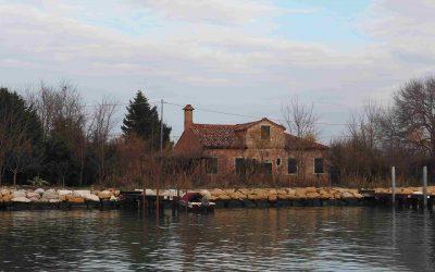 Die Insel Mazzorbo in der venezianischen Lagune, eine Oase der Stille