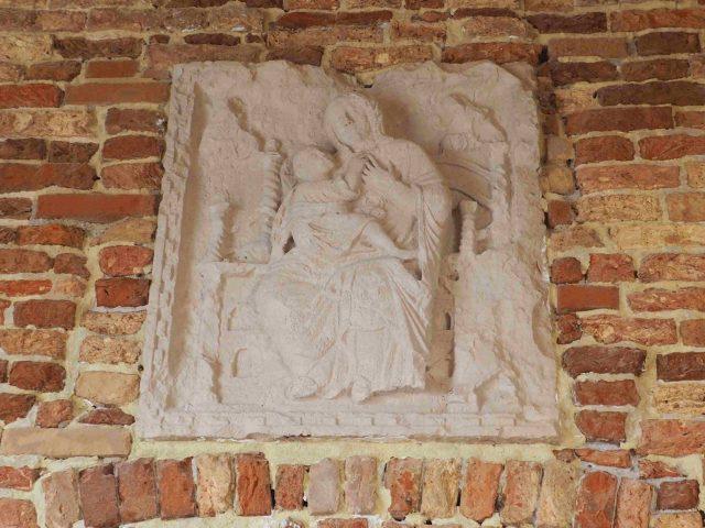 Frammento Madonna in trono con Bimbo a santa Caterina di Mazzorbo