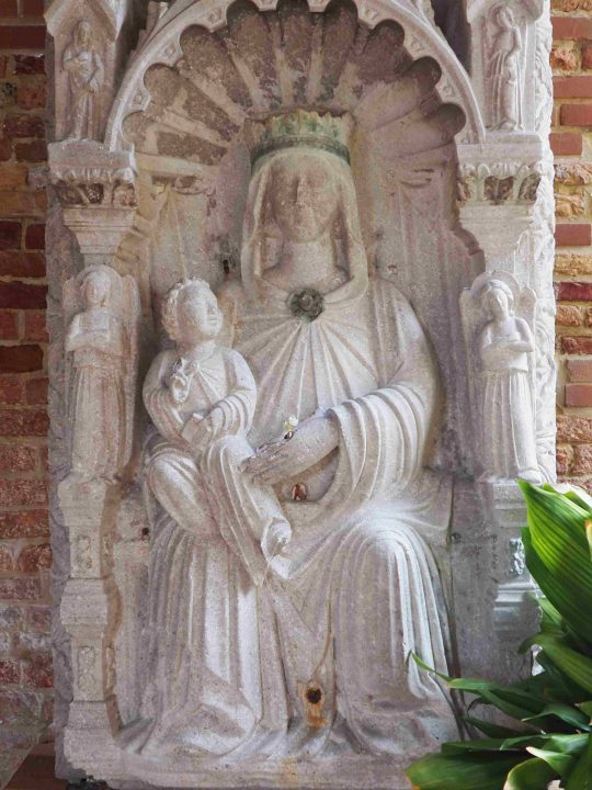 relief of Mary, originally from San Giacomo in Paludo