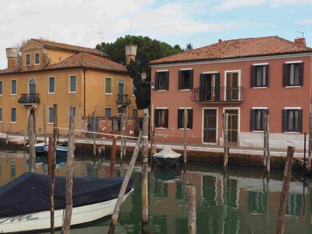 Veduta di un canale a Mazzorbo