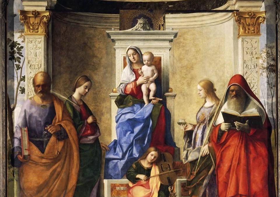 Giovanni Bellini, Sacra Conversazione, Chiesa di San Zaccaria, Venezia