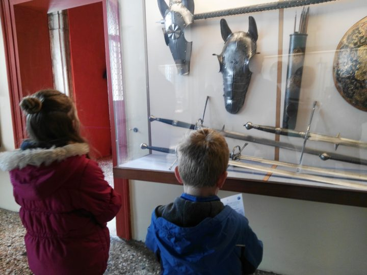 discovering the Armoury of the Doge's palace