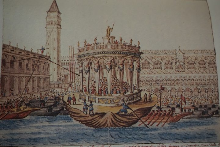 Compagnia degli Accesi's theatre, Museo Correr, Cod. Gradenigo-Dolfin, reference source: Lionello Venturi