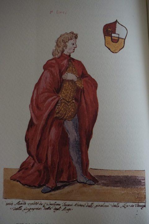 Girolamo Foscari, Prior of the Compagnia degli Accesi, Museo Correr, Cod. Gradenigo-Dolfin, reference source: Lionello Venturi