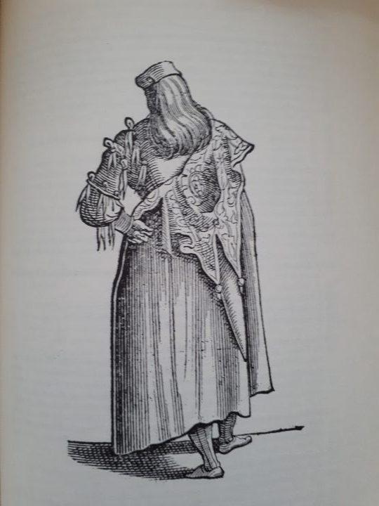 Compagno della Calza, Cesare Vecellio - Habiti… 1598, Venice