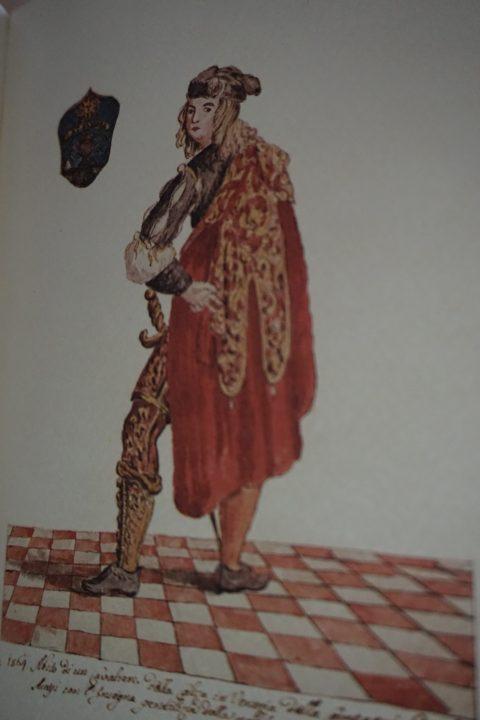 A member of the Compagnia degli Accesi, Museo Correr, Cod. Gradenigo-Dolfin, reference source: Lionello Venturi