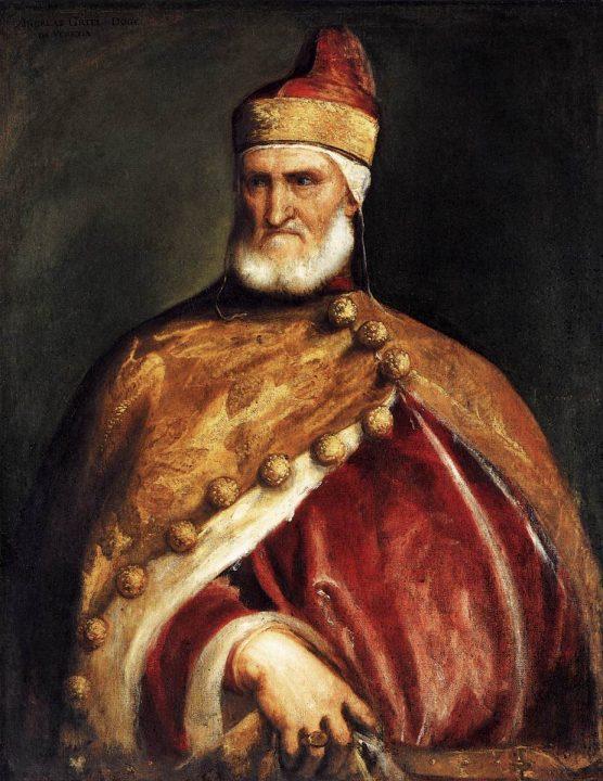 Tiziano, Ritratto del doge Andrea Gritti, Washington D.C., National Gallery of Art , foto da Wikimedia