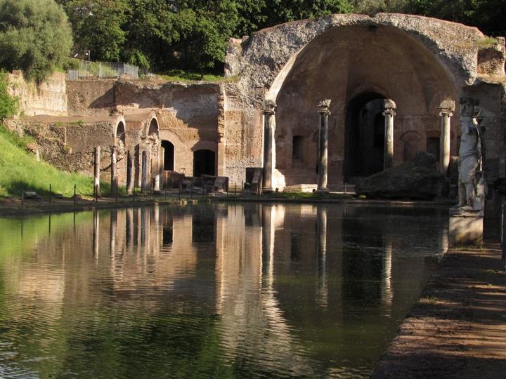 Tivoli, Villa Adriana, dettaglio, foto da Wikimedia