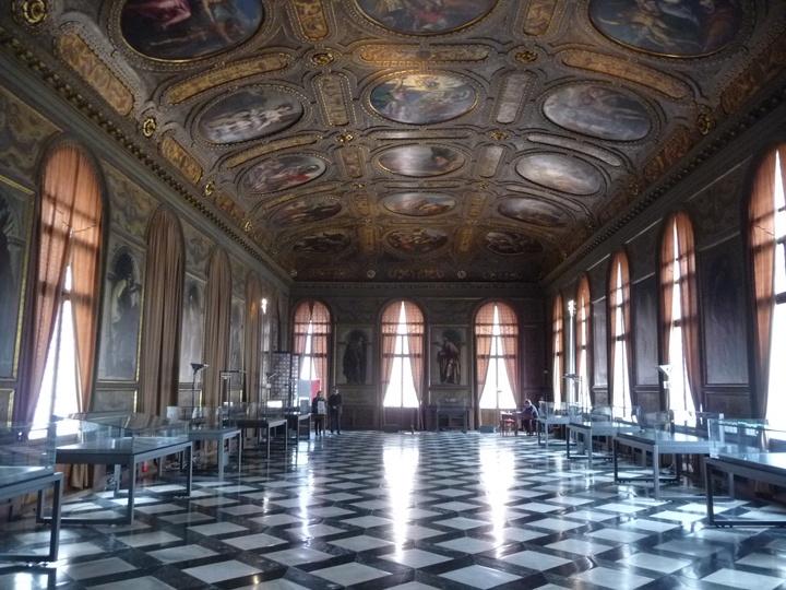 Venezia, Libreria Marciana, Sala della Biblioteca