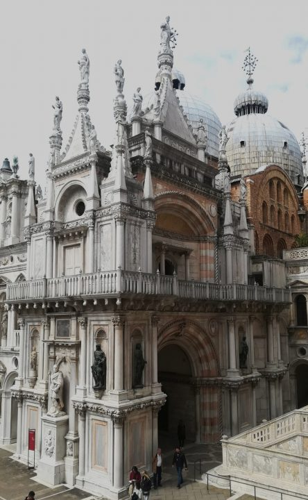 Andito Foscari in the Doge's palace
