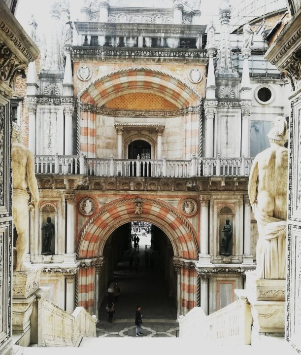 Foscari's Arch in the Doge's palace