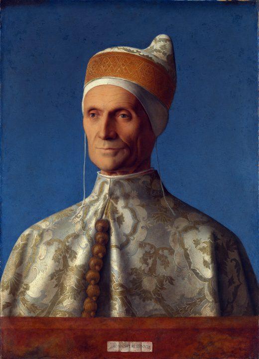 Portrét Dožete Leonardo Loredan od Giovanni Bellini