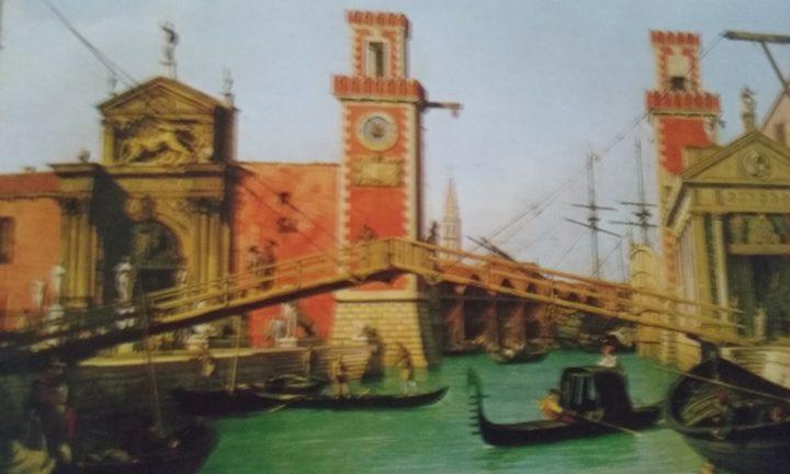 Vchod do Arsenálu - loděnice