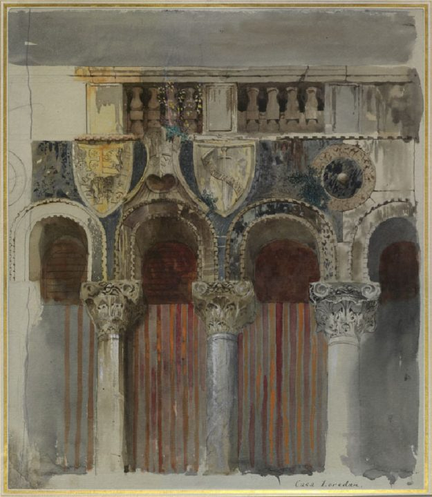 Ca' Loredan by John Ruskin