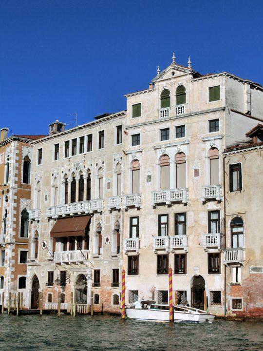 Palazzo Barbaro on the Grand Canal