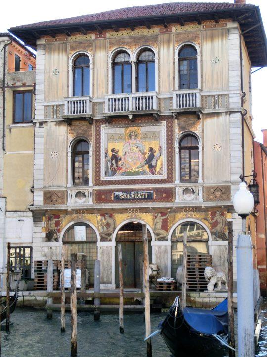 Palazzo Salviati on the Grand Canal