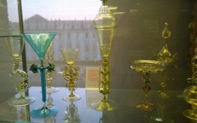 American and English art and glass collectors in Venice in the 19th Century