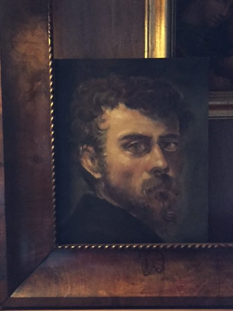 portrait of Jacopo Tintoretto by Sabine Grimal