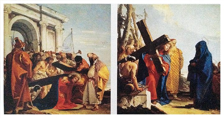 Stations of the Cross by Giandomenico Tiepolo - 1747