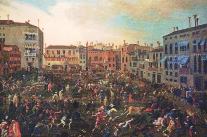 Joseph Heintz il Giovane, Bullfight in Campo San Polo - 1649