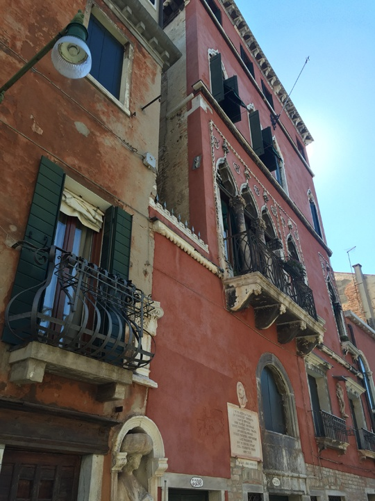 Tintoretto's house in Cannaregio