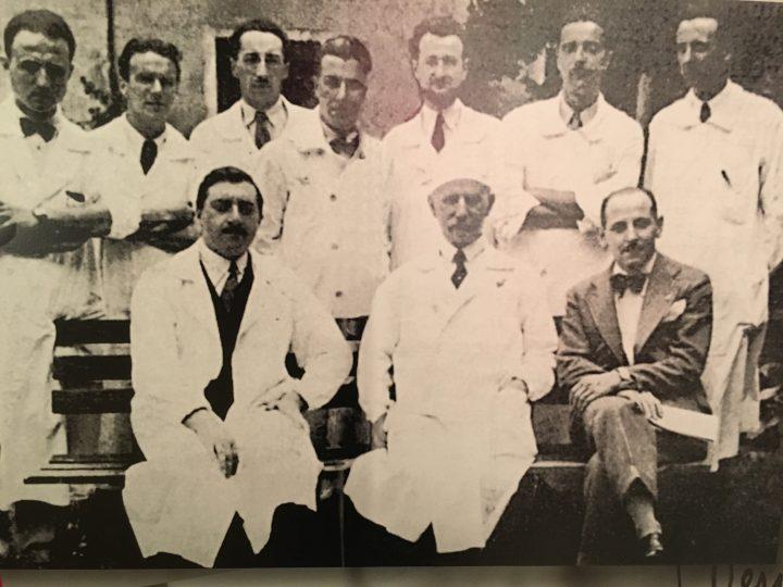 Giuseppe Jona and his students and fellows