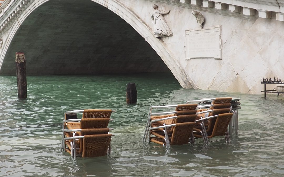 What can you do if you find high tide in Venice? The tide on 29th October 2018