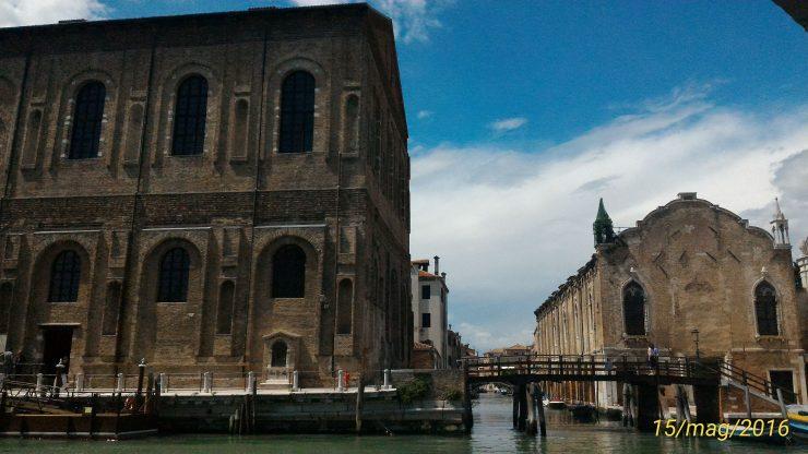old and new Scuola Grande della Misericordia