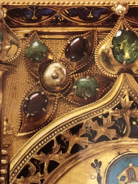 The Golden Altarpiece (detailed with precious stones)