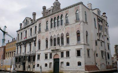the Contarini Rocca degli Scrigni Palace in Venice
