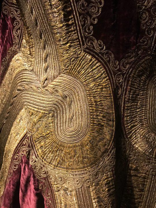 Turkish Albanian dress, detail
